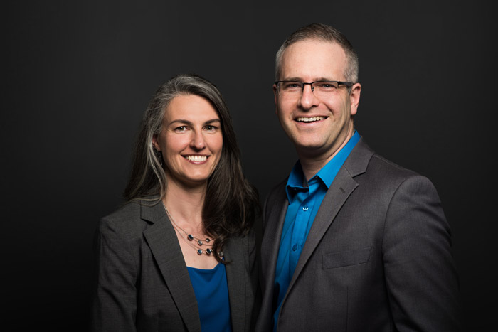 The Rob Campbell Mortgage Team portrait in Guelph, Ontario.